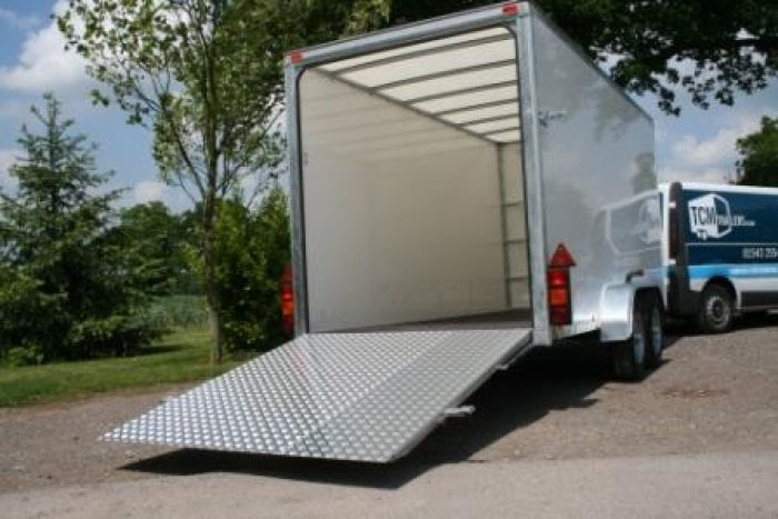 Box Trailer Hire with Ramp